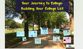 Building Your College List