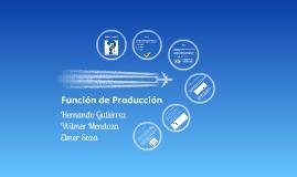 Función de Producción - Microeconomía