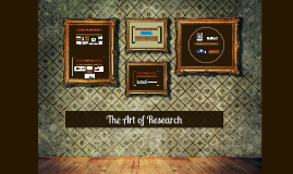 The Art of Research Sept 2015