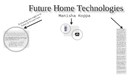 Future Home Technologies