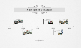 A day in the life of a team