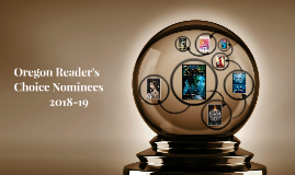 Oregon Reader's Choice Award Nominees 2018-19 High School Division