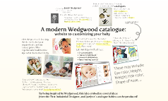 A modern Wedgwood catalogue