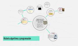Historia algoritmos y programación