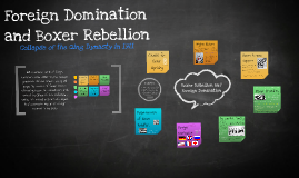 Foreign Domination and Boxer Rellion