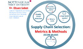 Supply Chain Operations Reference Models