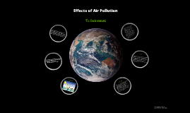 Effects of Air pollution to environment