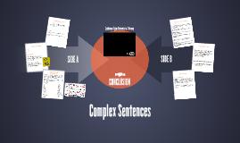 Complex Sentences (copy/revised)