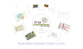 Olympic Lunch Sales Bid