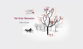 Old Order Mennonite Culture