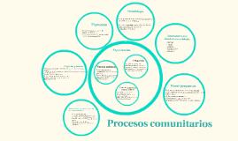Procesos comunitarios