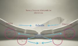 Copy of Texto y Discurso