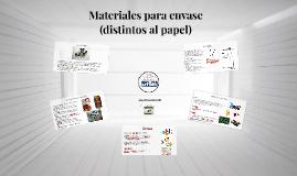 Materiales para envase