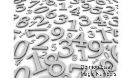 BBA 1 Magic Numbers