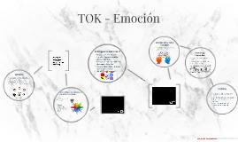 TOK - Emociones