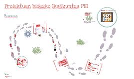 Proiektuen Bidezko Ikaskuntza