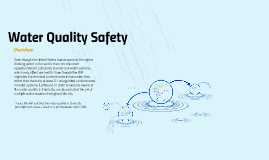 Water Quality Safety