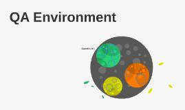 QA Environment