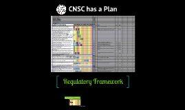 CNSC has a Plan
