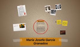 María Josefa García Granados