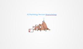 A2 Psychology Revision: Biopsychology