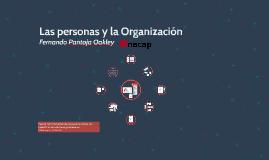 Las personas y la Organización