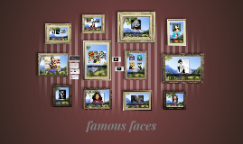 Copy of famous faces