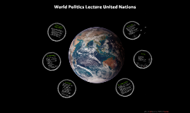 World Politics Lecture 17 The United Nations