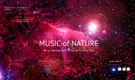 Copy of The music of nature