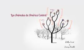 Los Animales de America Central