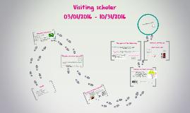 Visiting scholar - Internship