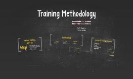 Copy of Training Methodology