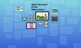What's Literature?