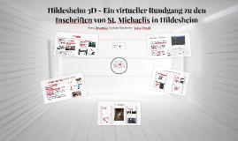 Hildesheim 3D - Ein virtueller Rundgang zu den Inschriften