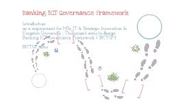 Banking ICT Governance Framework