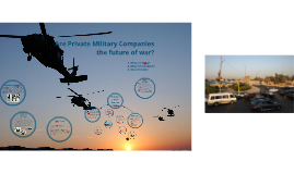 Private Military Companies