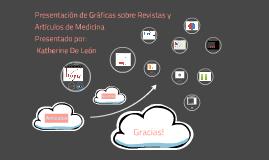 Gráficas sobre Revistas y Artículos de Medicina