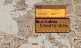Battle Analysis: Battle of Pointe du Hoc