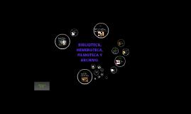 BIBLIOTECA, HEMEROTECA, FILMOTECA Y ARCHIVO.