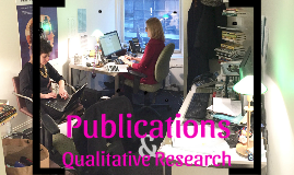 Publications and Qualitative Research