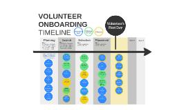Volunteer Onboarding Timeline