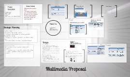 Copy of Multimedia Proposal