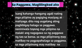 Copy of Sa Paggawa, Maglilingkod ako