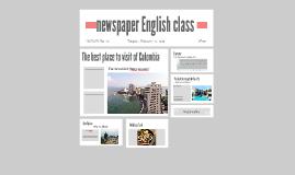 newspaper English class