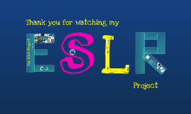 The ESLR Project
