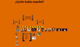 Who Speaks Spanish?