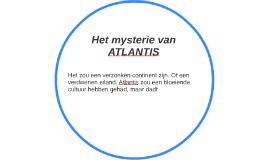 Het mysterie van ATLANTIS