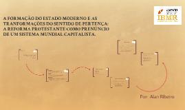 A FORMAÇÃO DO ESTADO MODERNO E AS TRANFORMAÇÕES DO SENTIDO D
