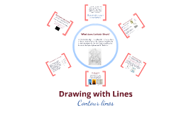 Copy of Contour Line Drawing - focus on three