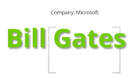 Bill Gates: Entreprenuer Project